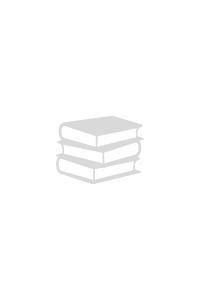 """'Картон цветной Мульти-Пульти, двустор. A4,  """"Енот на о.Мадагаскар"""", узор """"Сердечки"""", 6л. 6цв., в пап'"""